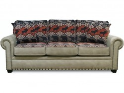 Jaden Sofa with Nails Collection
