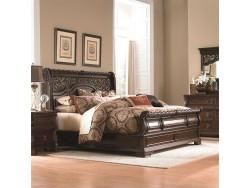 Arbor Place Sleigh Bed, Dresser & Mirror, Chest, NS