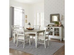 Whitney 5 Piece Rectangular Table Set