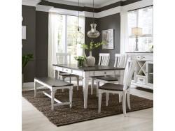 Allyson Park 6 Piece Rectangular Table Set
