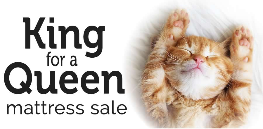 King for a Queen Mattress Sale