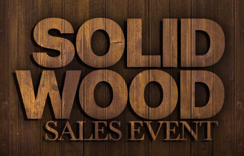 solid wood bedroom furniture sale
