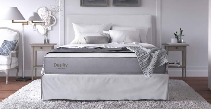 Duality by White Dove Mattress Banner