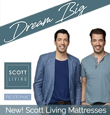 Introducing Scott Living Mattresses by Restonic