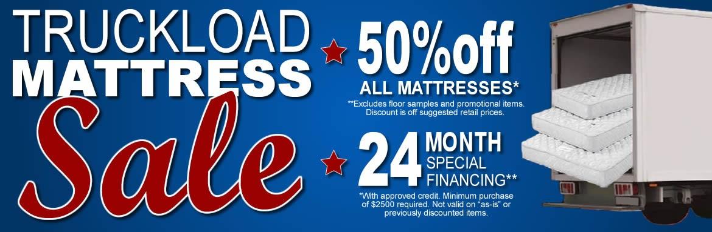 Truckload Mattress Sale