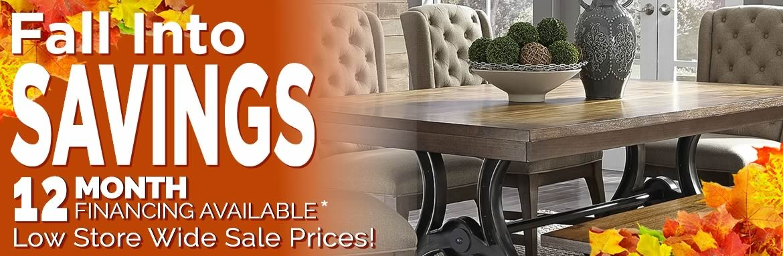 Fall into Savings Dining Furniture Sale